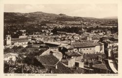 Condrieu (Rhône) : Vue panoramique