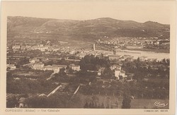 Condrieu (Rhône) : Vue générale
