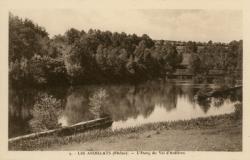 Les Ardillats (Rhône) : L'étang du Val d'Ardières
