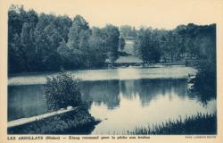 Les Ardillats (Rhône) : Etang renommé pour la pêche aux truites