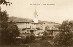 Les Ardillats (Rhône) : Eglise et presbytère