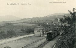 Les Ardillats (Rhône) : La gare