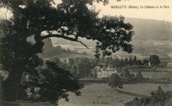 Chénelette (Rhône) : Le château et le parc
