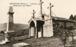 Chaussan (Rhône) : Calvaire