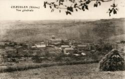 Chaussan (Rhône) : Vue générale