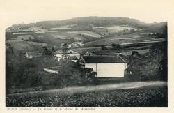 Blacé (Rhône) : Le Gonnu et le côteau de Montmelas