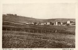 Blacé (Rhône) : Le Vortillon et le Crêt