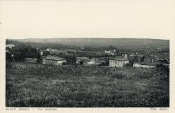 Blacé (Rhône) : Vue générale