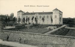 Blacé (Rhône) : Hôpital Courrajod