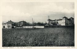 Blacé (Rhône) : Le Gare et l'Hospice