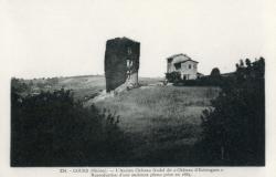 """Cours-la-Ville (Rhône) : L'ancien château féodal dit """"Château d'Estieugues"""""""