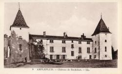 Amplepuis (Rhône) : Château de Rochefort