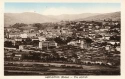 Amplepuis (Rhône) : Vue générale