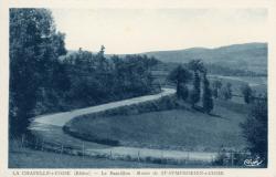 La Chapelle-sur-Coise (Rhône) : Le Bancillon, route de Saint-Symphorien-sur-Coise