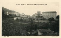 Aveize (Rhône) : Hospice de l'Argentière vue coté Est