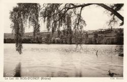 Le lac du Bois-d'Oingt (Rhône)