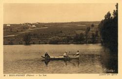 Bois-d'Oingt (Rhône) : Le lac