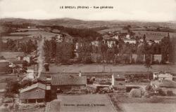 Le Breuil (Rhône) : Vue générale