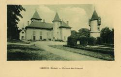 Le Breuil (Rhône) : Château des Granges