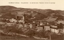 Chamelet (Rhône) : Vue générale.