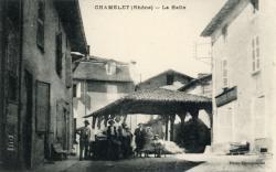 Chamelet (Rhône) : La Halle