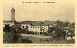 Chaponost (Rhône) : Vue d'ensemble (1)