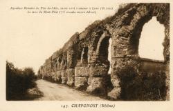 Chaponost (Rhône) : [Aqueducs romains]