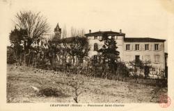 Chaponost (Rhône) : Pensionnat Saint-Charles