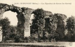 Chaponost (Rhône) : Les Aqueducs du Garon (en Garret)