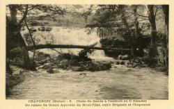 Chaponost (Rhône) : Chute du Garon.