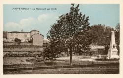 Cogny (Rhône) : Le Monument aux Morts