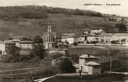 Cogny (Rhône) : Vue générale