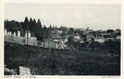 Cogny (Rhône) : Le bourg