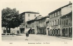 Bessenay (Rhône) : La place