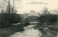 Bessenay (Rhône) : Pont de la Brevenne, près de la gare