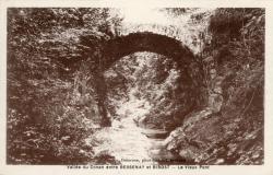 Vallée du Conan entre Bessenay et Bibost (Rhône) : Le Vieux pont
