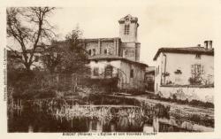 Bibost (Rhône) : L'église et son nouveau clocher