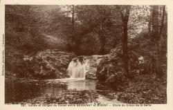 Vallée et gorges du Conan entre Bessenay et Bibost (Rhône) : Chute du creux de la Gerle