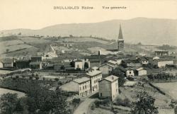 Brullioles (Rhône) : Vue générale
