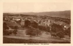 Brussieu (Rhône) : Vue générale