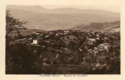Courzieu (Rhône) : Hameau des Verchères