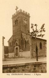 Chassagny (Rhône) : L'église
