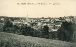 Chambost-Longessaigne (Rhône) : Vue générale