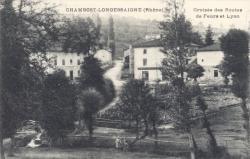 Chambost-Longessaigne (Rhône) : Croisées des routes de Feurs et Lyon