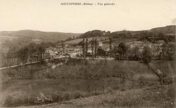 Aigueperse (Rhône) : Vue générale