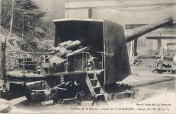Saint-Chamond (Loire) : Aciérie de la Marine - Usines de St-Chamond - Canon de côte de 240 m/m