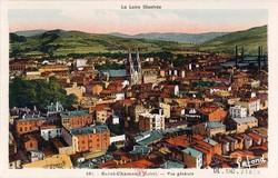 Saint-Chamond (Loire) : Vue générale
