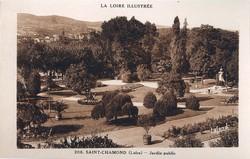 Saint-Chamond (Loire) : Jardin public