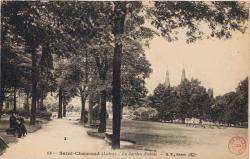 Saint-Chamond (Loire) : Le Jardin Public