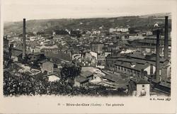 Rive-de-Gier (Loire) : Vue générale